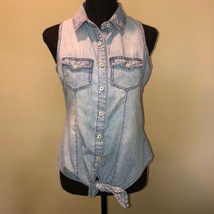 New Look Denim sleeveless Top size Small